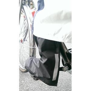 ♪送料無料♪ニッコー『完全防水自転車用シューズカバー(反射テープ付き)』Lサイズ bcfujioka 05