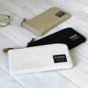 メガネケース ペンケース 筆箱 ペンポーチ メンズ  シンプル 帆布 プレゼント|bcolors