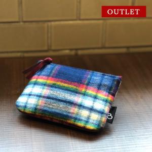 ポケットティッシュケース 小物入れ プレゼント かわいい おしゃれ 化粧ポーチ タータンチェック bcolors