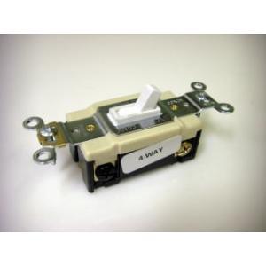 アメリカンスイッチ COOPER社公認 直輸入 4路スイッチ 15A-125V PSEマーク 4WS bcube