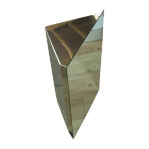 ミラーキャビネット ステンレス 洗面収納 幅38×高65cm 650 bcube