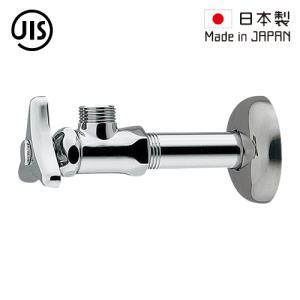 止水栓 壁給水タイプ 日本製 シルバー 705-601-13  代引決済不可 bcube