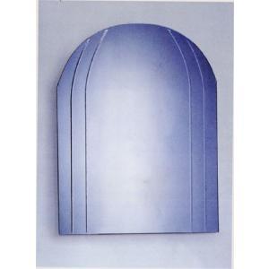 ミラー 鏡 洗面鏡 壁掛け スクエア(上部アーチ) 幅60×高80cm BD05 bcube