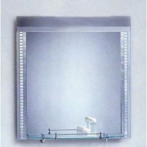 ミラー 鏡 洗面鏡 壁掛け 棚付き 幅60×高80cm CD14-600 bcube