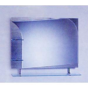 ミラー 鏡 洗面鏡 壁掛け 棚付き 幅90×高80cm CJ02 bcube