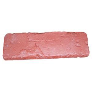 ポリウレタンレンガ 5個セット 外装材 装飾 レッド(赤) 長さ19.5×高6.5cm INK-006imp bcube
