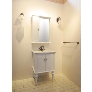 洗面台 交換 セット 洗面化粧台 混合水栓の5点セット VIC-6 INK‐0501047H-wset2|bcube