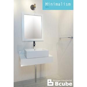 洗面台 交換 セット 混合水栓の6点セット MIN-4 INK-0504037Hset2|bcube