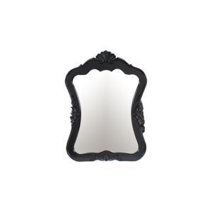 ミラー 鏡 壁掛け デコラティブ フレーム ブラック(黒) ヴィクトリアン 幅66.5×高90.5cm INK-0701013H bcube