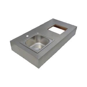 キッチン シンク/左水槽 ステンレス製 幅120cm INK-0901013G|bcube