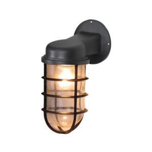照明 壁 ウォールランプ 屋外 外部対応 壁付け 壁掛け LED電球対応 マリンライト 幅10×奥行15×高24cm INK-1001084H|bcube