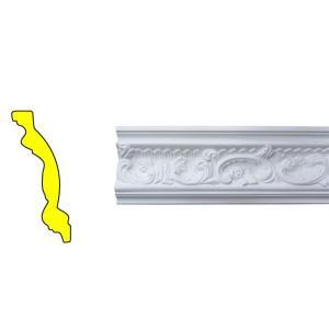 モールディング 装飾 デコラティブ廻り縁タイプ 室内 外装材 長さ240×高11.6cm INK-1301001G bcube