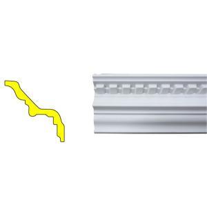 モールディング 装飾 デコラティブ廻り縁タイプ 室内 外装材 長さ240×高8.7cm INK-1301002G bcube