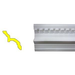 モールディング 装飾 デコラティブ廻り縁タイプ 室内 外装材 長さ240×高7cm INK-1301003G bcube