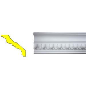 モールディング 装飾 デコラティブ廻り縁タイプ 室内 外装材 長さ240×高7cm INK-1301007G bcube