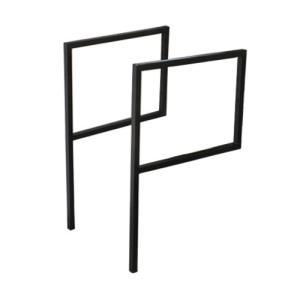 ロートアイアンバー 脚 飾り パーツ 鉄 DIY 2本セット 奥行45×高80cm INK-1401311H|bcube