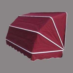 コーベルオーニング 日よけ 雨よけ ワインレッド(赤)(大) 幅188×奥行92×高92cm INK-1601001H|bcube