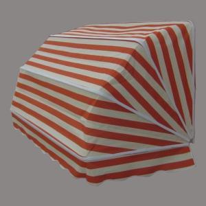 コーベルオーニング 日よけ 雨よけ オレンジストライプ(大) 幅188×奥行92×高92cm INK-1601003H|bcube