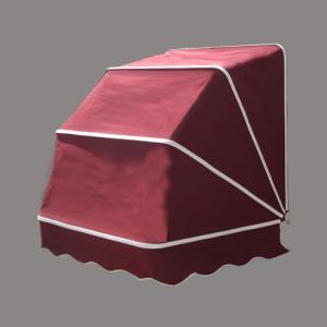 コーベルオーニング 日よけ 雨よけ ワインレッド(赤)(小) 幅97×奥行92×高92cm INK-1601006H|bcube
