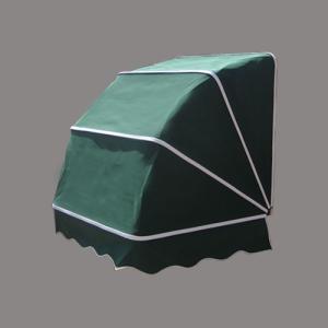 コーベルオーニング 日よけ 雨よけ ダークグリーン(緑)(小) 幅97×奥行92×高92cm INK-1601007H|bcube