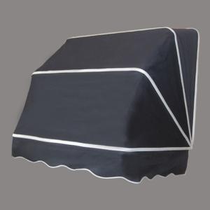 コーベルオーニング 日よけ 雨よけ ブラック(黒)(小) 幅97×奥行92×高92cm INK-1601010H|bcube