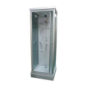 エリア限定販売 シャワーブース FRP製  ガラス/スモーク 幅76.5×奥行76.5×高220cm INK-8039-3s|bcube