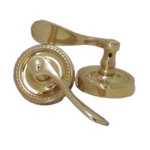 -在庫処分セール- ドアハンドル ドアノブ アンティーク風 ゴールド(金) INK-911-6400PB-PS|bcube
