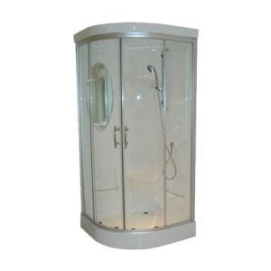 エリア限定販売 シャワーブース FRP製 ガラス/クリアタイプ 幅92×奥行92×高212cm INK-949C|bcube