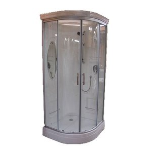 エリア限定販売 シャワーブース FRP製 ハイタイプ ガラス/クリア 幅130×奥行92×高234cm INK-949CH2|bcube