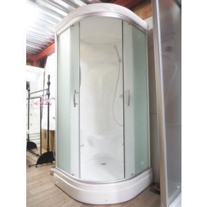 エリア限定販売 シャワーブース 日本製 FRP製 ガラス/スモークタイプ 幅92×奥行92×高212cm INK-949CS-1|bcube