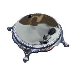 シャワー混合水栓用 交換 自立土台 シルバー(銀) INK-03010012Hset用 幅27.5×高7cm INK-SG|bcube