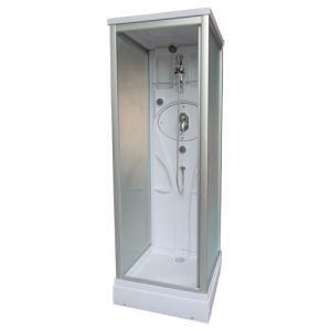 シャワーブース ABS製 ガラス:スモークタイプ 幅76.5×奥行76.5×高220cm INK-w01020017H|bcube