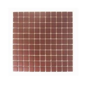 モザイクタイル 陶器 11枚セット(約1平米) ブラウン [幅30×奥行30×厚み0.5cm] INK-YD2513 bcube
