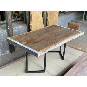 一枚板 モンキーポッド 無垢 天板 テーブル 幅88cm×長162cm MK-001|bcube
