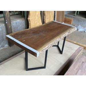 一枚板 ウォルナット 無垢 天板 テーブル 幅75cm×長152.5cm WN-001|bcube