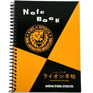 新日本プロレス NJPW ライオンマーク マルマン図案メモノート(スタンダード) bdrop