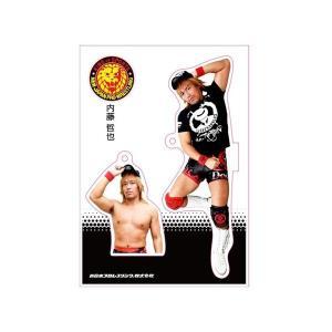 新日本プロレス NJPW フィギュアシートキーホルダー 内藤哲也(4th model) bdrop