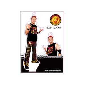 新日本プロレス NJPW フィギュアシートキーホルダー オカダ・カズチカ(5th model)|bdrop
