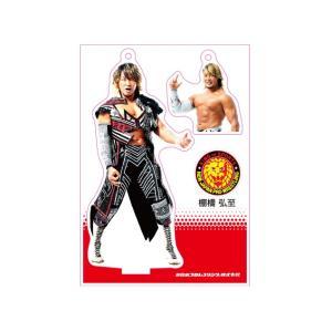 新日本プロレス NJPW フィギュアシートキーホルダー 棚橋弘至(4th model)|bdrop