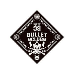 新日本プロレス NJPW BULLET CLUB(バレット・クラブ) '18 バンダナ|bdrop
