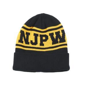 新日本プロレス NJPW ニットキャップ|bdrop