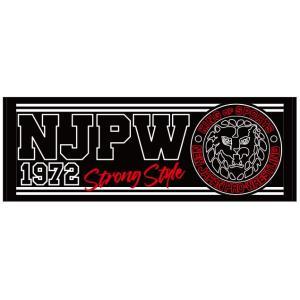 新日本プロレス NJPW ライオンマーク JPNスポーツタオル|bdrop