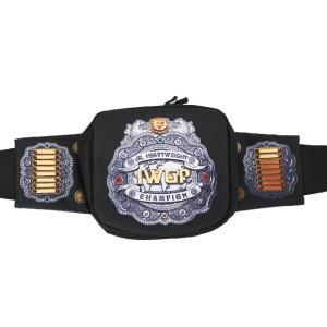 新日本プロレス NJPW IWGPジュニアヘビー級チャンピオンベルト ウエストバッグ|bdrop