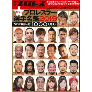 週刊プロレス12月9日号増刊 2019プロレスラー カラー選手名鑑 bdrop