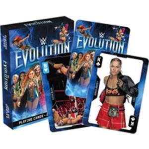 WWE Evolution トランプ bdrop