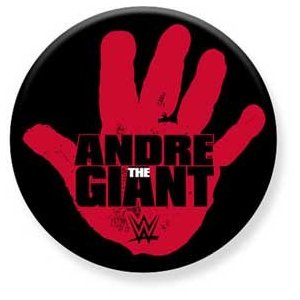 WWE Andre The Giant(アンドレ・ザ・ジャイアント) 缶バッジ bdrop