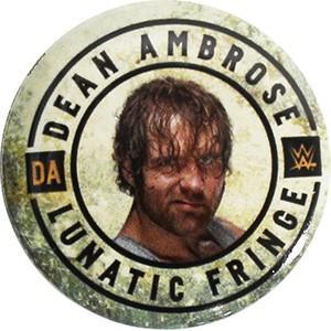 WWE Dean Ambrose(ディーン・アンブローズ) 缶バッジ|bdrop