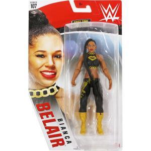 WWE Mattel Basic107 Bianca Belair(ビアンカ・ブレア)|bdrop