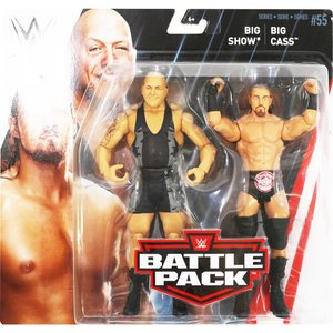 WWE BATTLE PACKS 55 Big Show & Big Cass(ビッグ・ショー/ビッグ・キャス)|bdrop