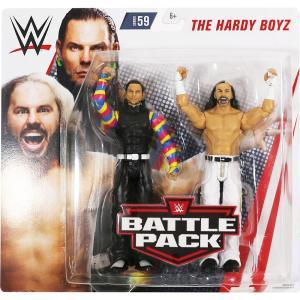 WWE BATTLE PACKS 59 Hardy Boyz(ハーディ・ボーイズ)|bdrop